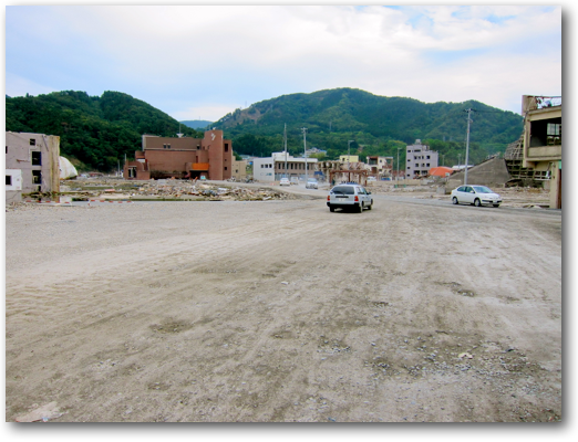Downtown Onagawa cleared photo three