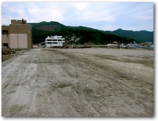 Downtown Onagawa cleared photo two