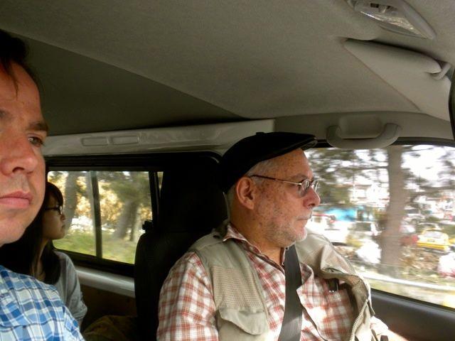 May 21, 2011: Socks for Japan's Jason Kelly Driving Through the Ishinomaki Disaster Area with Prof. Jose Holguin-Veras
