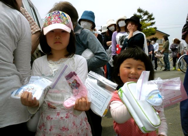 May 21, 2011: Socks for Japan Sock Recipients
