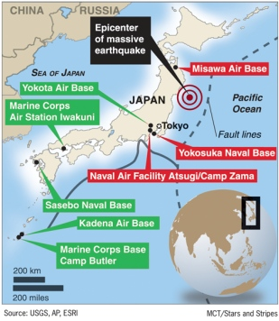 US bases in Japan
